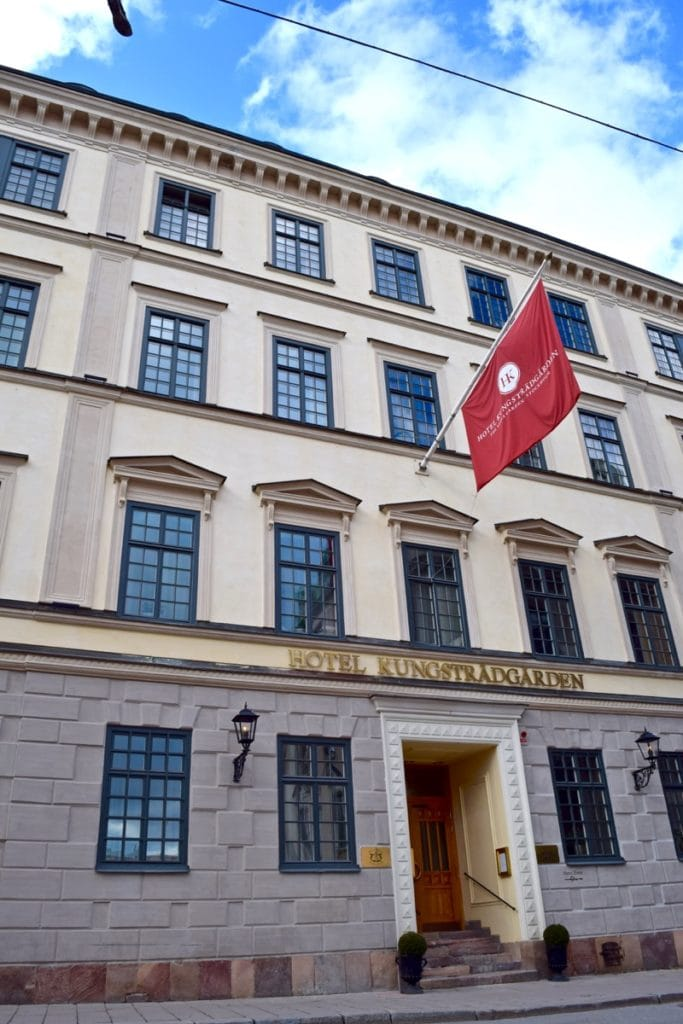 Hotel Kungsträdgården Exterior