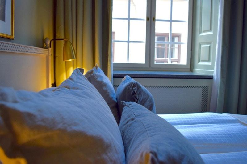 Classic double room at Hotel Kungsträdgården Stockholm