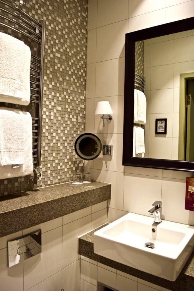 Bathroom at Hotel Kungsträdgården Stockholm