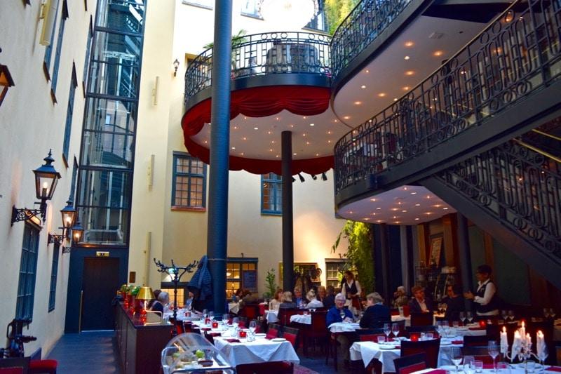 Brasserie Makalos at Hotel Kungsträdgården, Stockholm