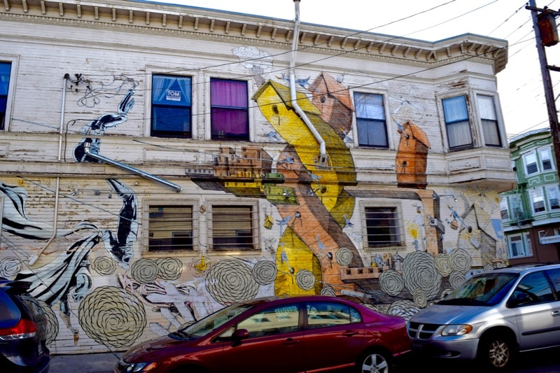 The Generator mural in the Mission District