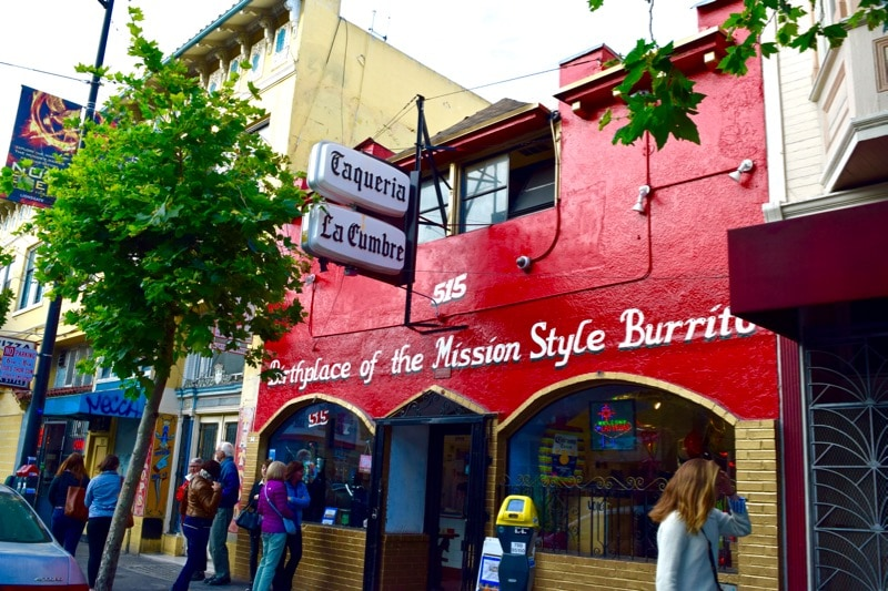 Taqueria La Cumbre, Mission District Food Tour, San Francisco