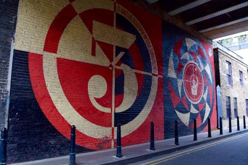 Advertising or street art? Shoreditch street art tour