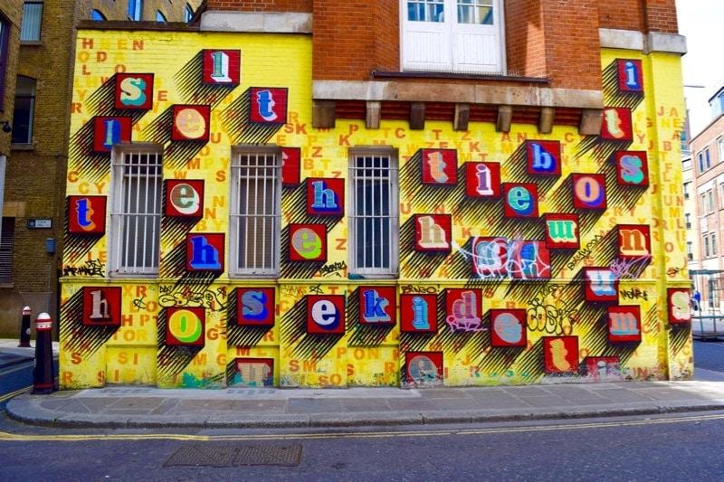 Ben Eine, Sidestory Street Art Tour, London