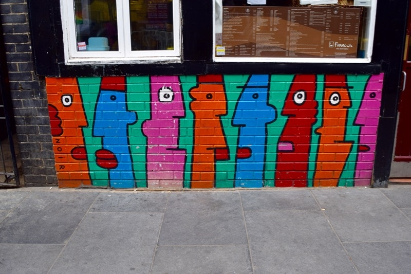 Sidestory Street Art Tour, London