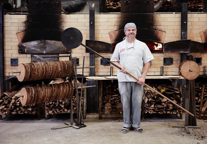 Joel Lindblad at Skedvi Bakery, Sweden