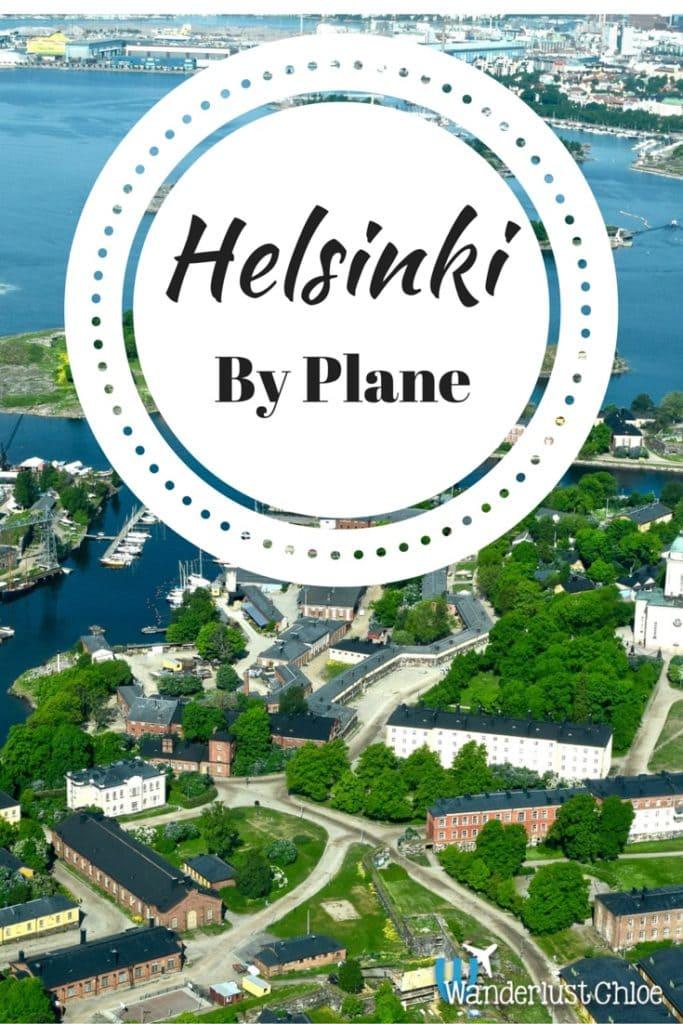 Helsinki by Plane