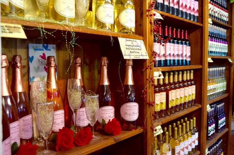 Shop at Rosemary Vineyard, Isle of Wight