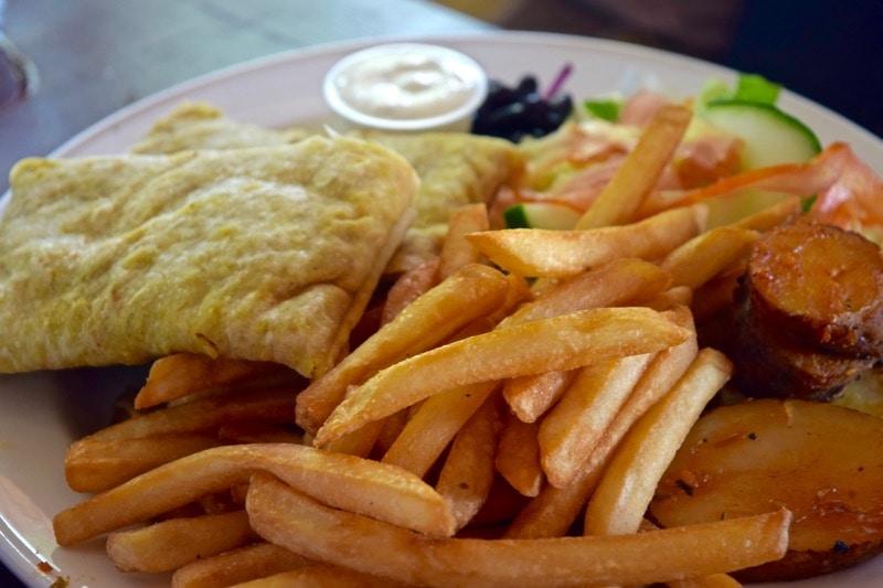 Top restaurants in st kitts wanderlust chloe for Roti food bar