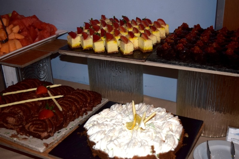 Desserts at the Marriott, St Kitts