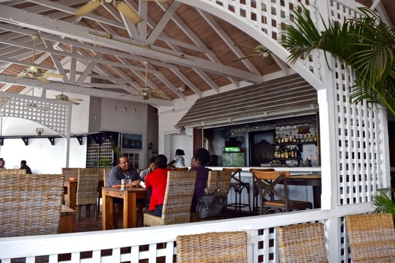 Ballahoo Restaurant, St Kitts