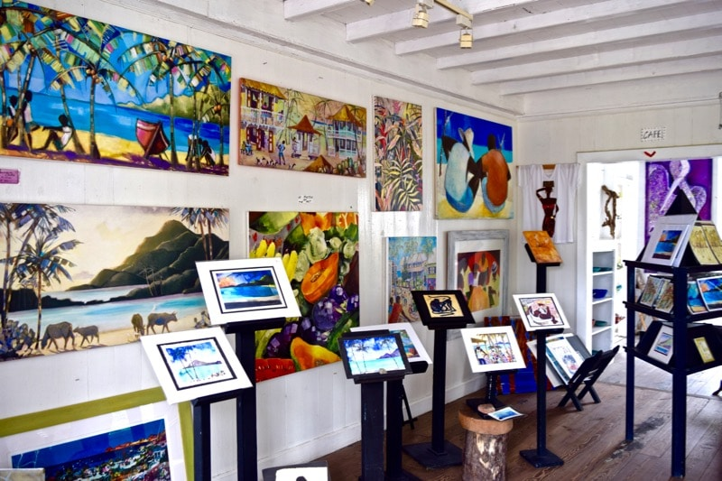 The Gallery Cafe, St Kitts