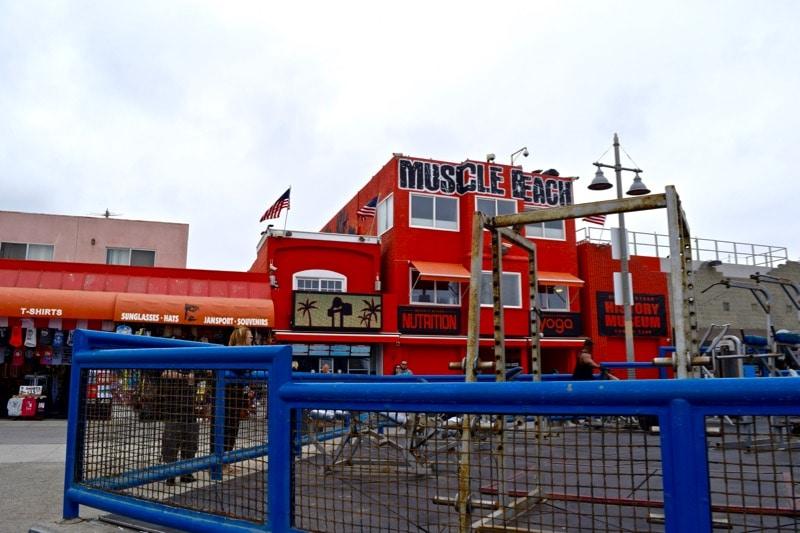 Muscle Beach, L.A.