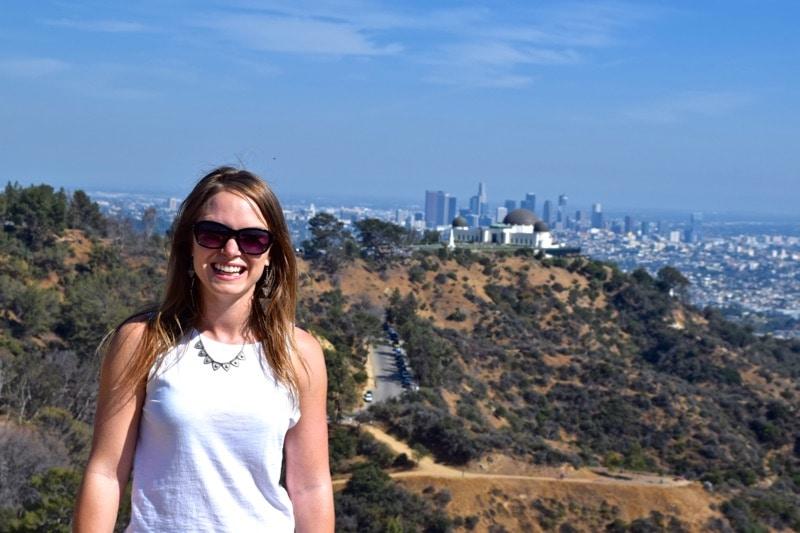 Enjoying Hollywood, L.A.