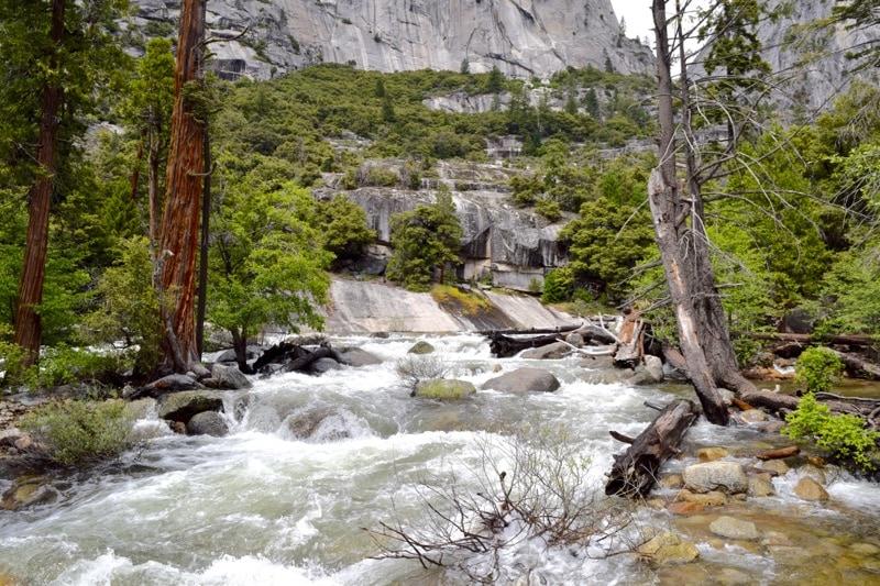River rapids in Yosemite National Park