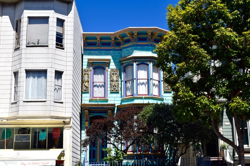 The Mission District, San Francisco