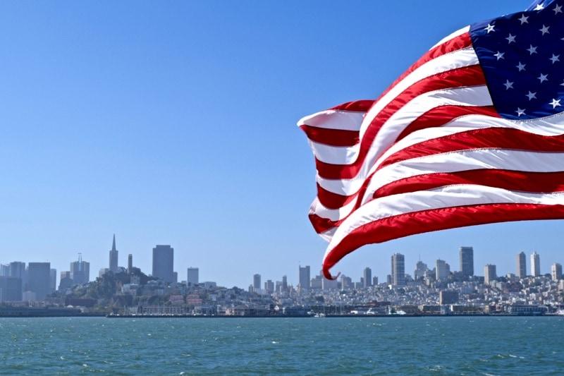 San Francisco from the Alcatraz ferry