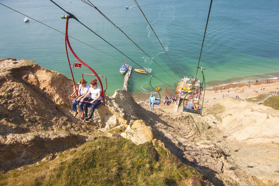 The Needles Chairlift, Isle of Wight (Photo: http://www.theneedles.co.uk)