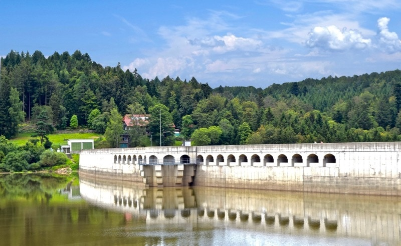 Schwarzenbach Dam, Black Forest, Germany