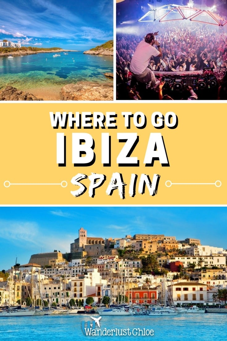 Best places to visit in Ibiza, Spain