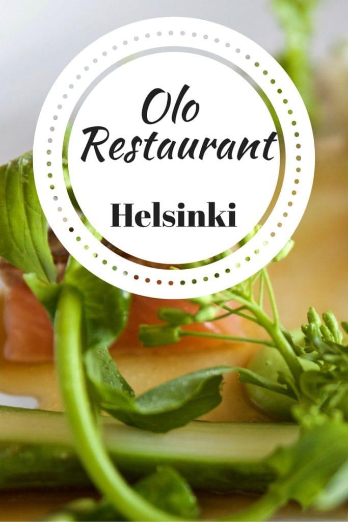 Olo Restaurant, Helsinki (PIN)