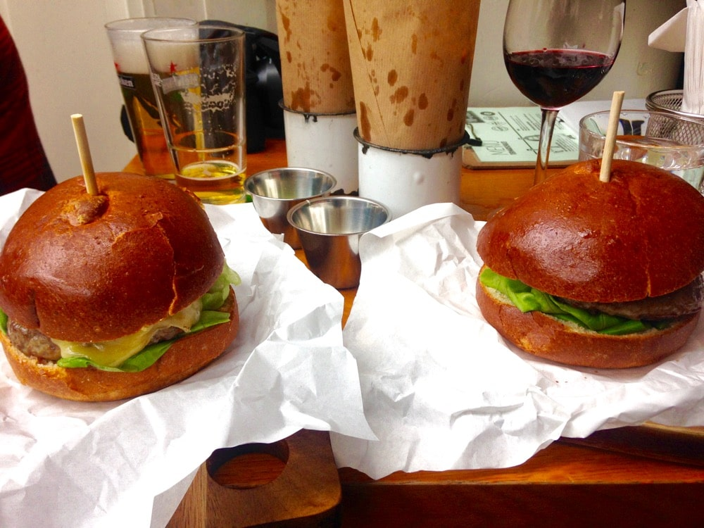 Epic burgers at Ter Marsch & Co, Rotterdam