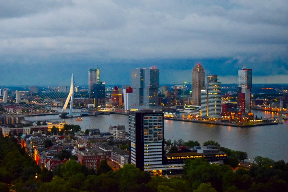 View from the Euromast, Rotterdam