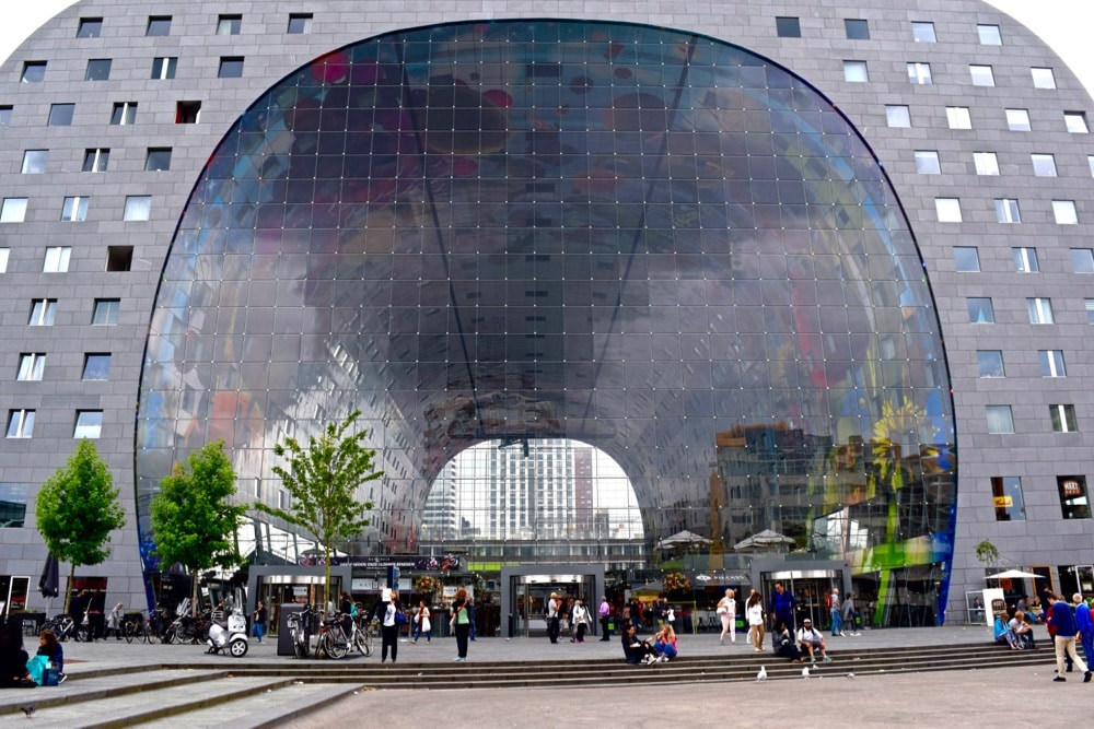 Exterior of Markthal, Rotterdam
