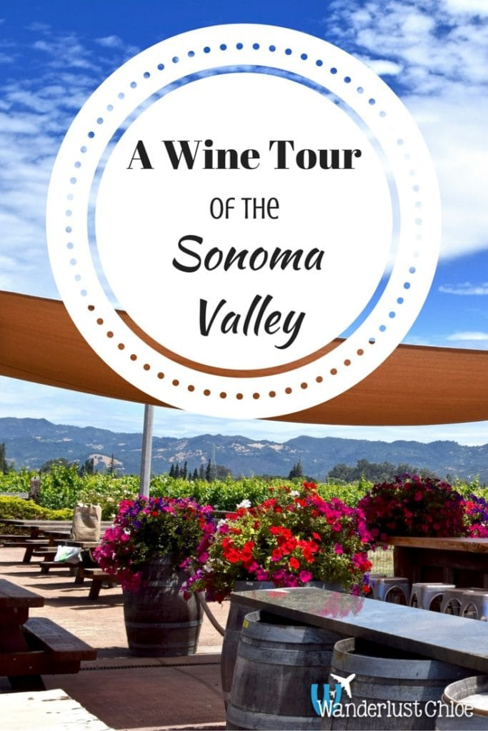 A Wine Tour Of The Sonoma Valley (PIN)