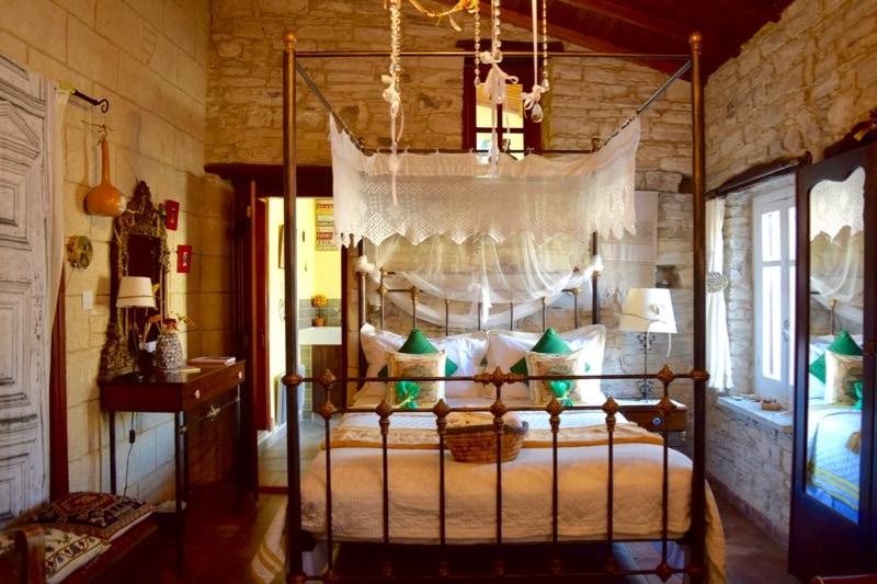 Bedroom at Stratos House, Kalavasos, Cyprus