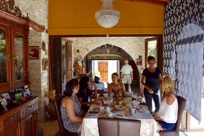 "Breakfast at ""Our House"", Cyprus"