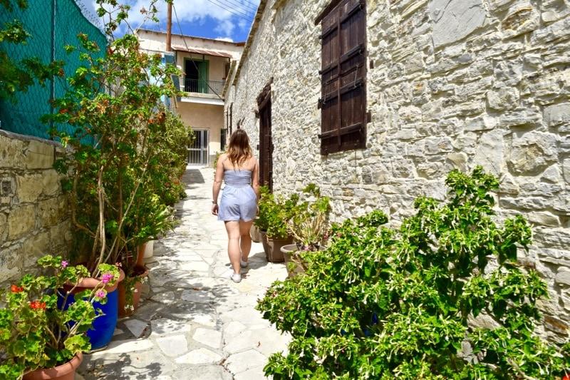 Exploring Kato-Drys Village, Cyprus