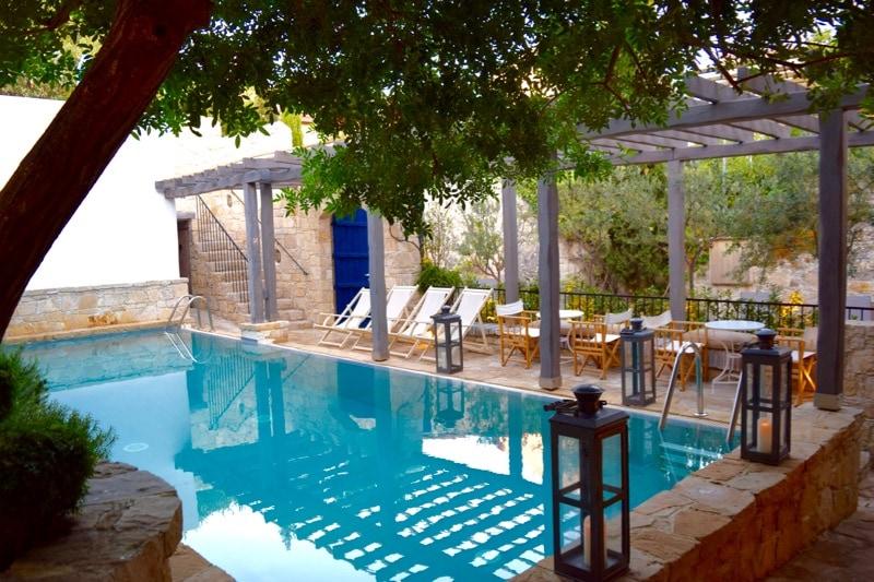 Pool at Apokryfo Hotel, Cyprus