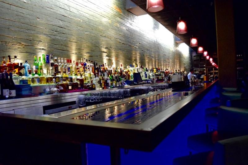 The bar at Hakkasan, London