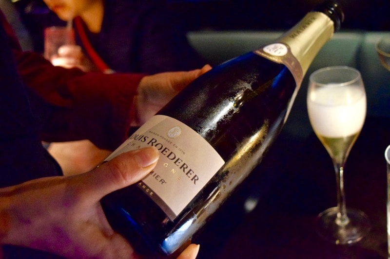 Champagne is flowing at dim sum Sundays at Hakkasan, London