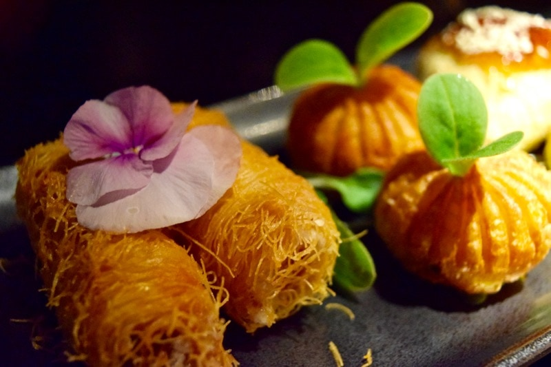 Delicious dim sum at Hakkasan, London