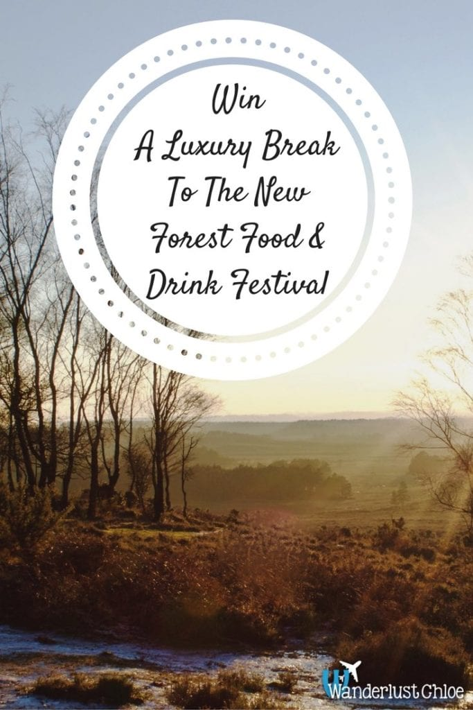 New Forest Food and Drink Festival Competition