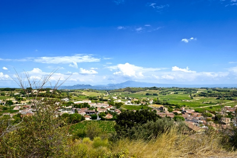 Views of Provence from Châteauneuf-du-Pape, France