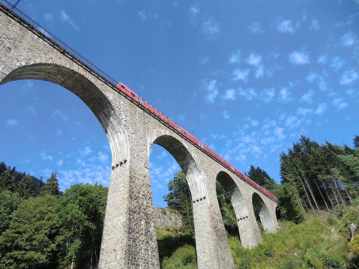 Ravenna Bridge, Black Forest, Germany