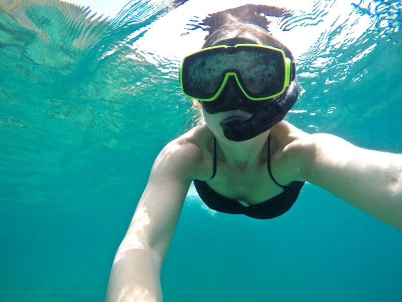 Snorkelling in St Kitts