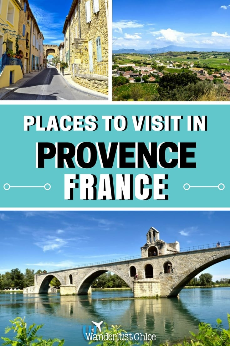 Places to visit in Provence, France