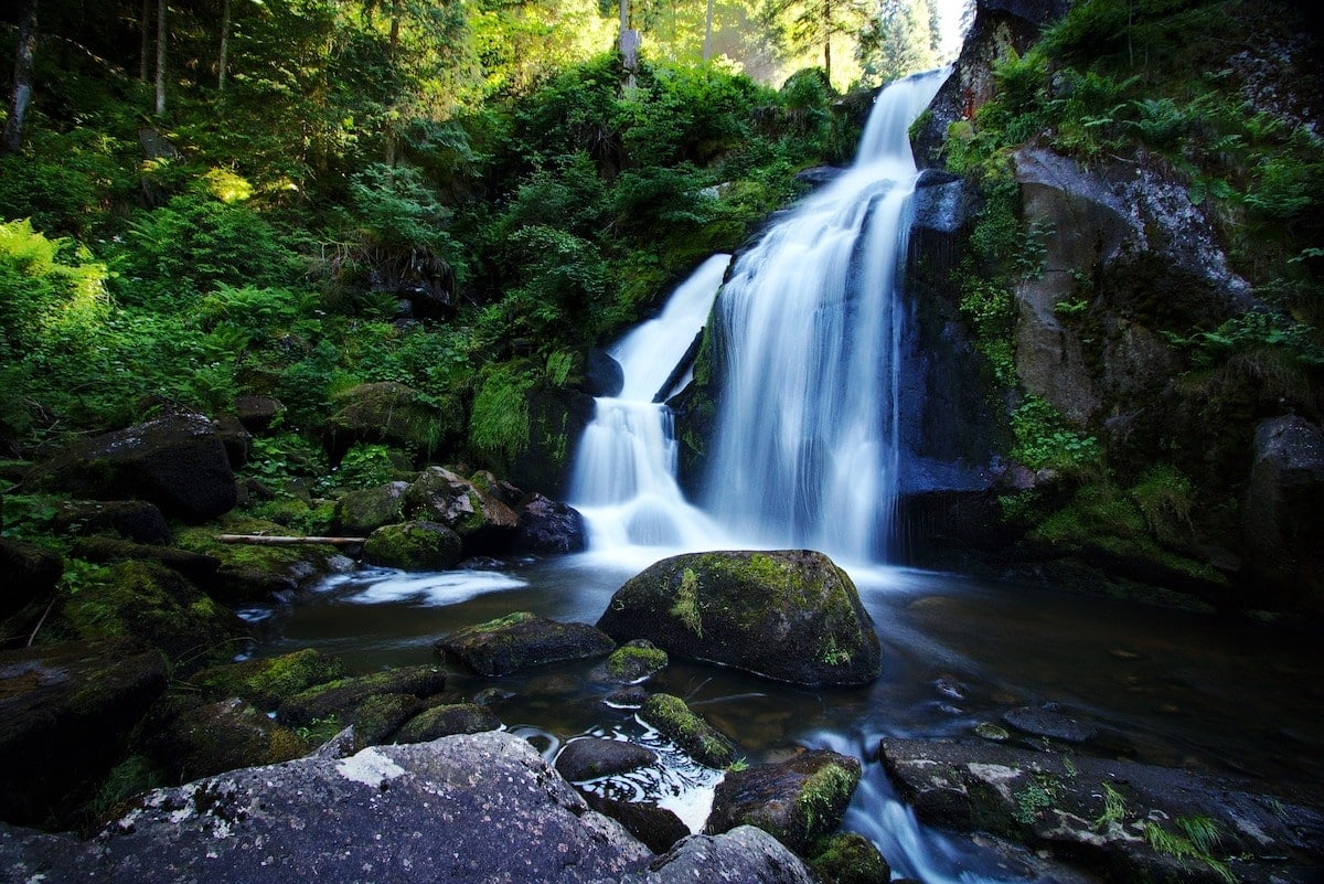 Triberg Waterfall, Black Forest, Germany