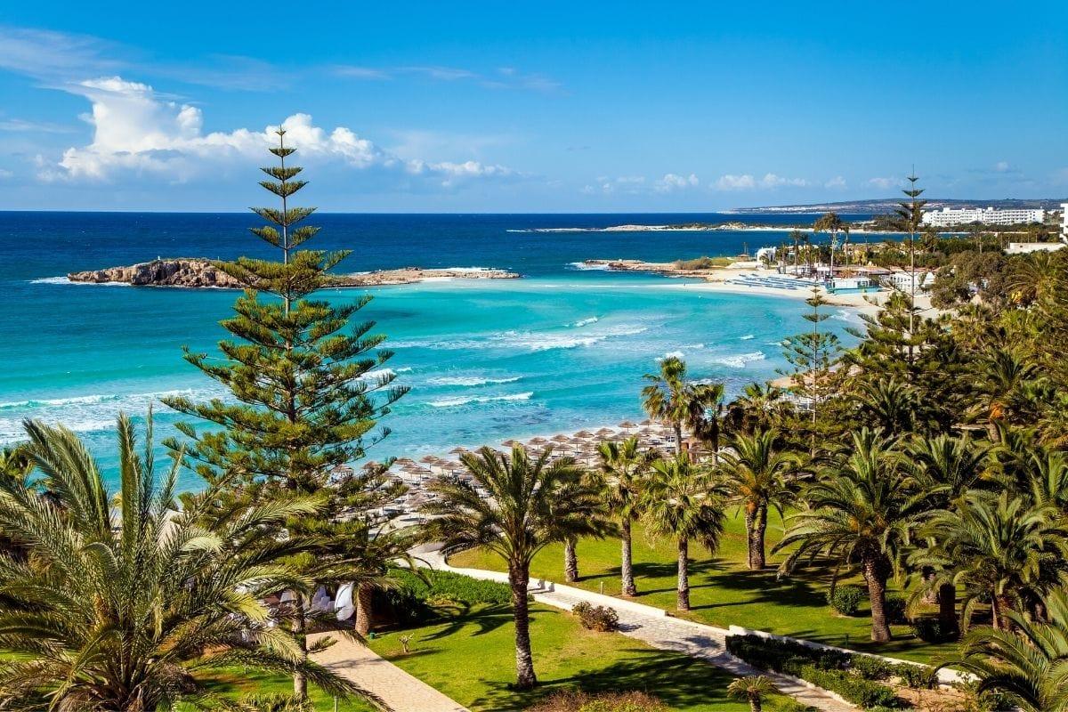 Beautiful beaches in Cyprus