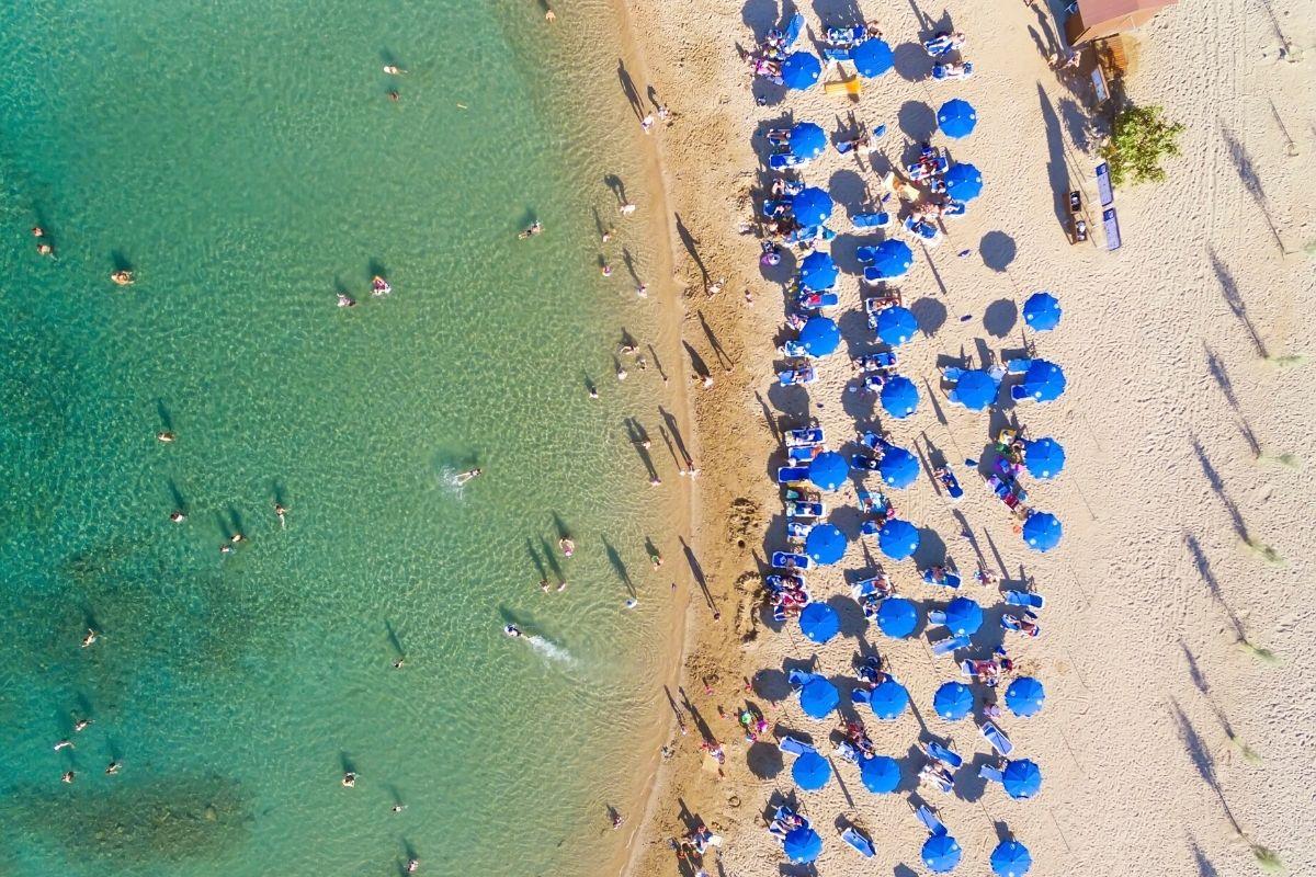 Beach views in Cyprus