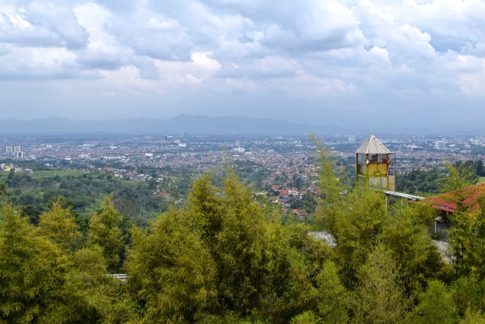 View of Bandung, Indonesia