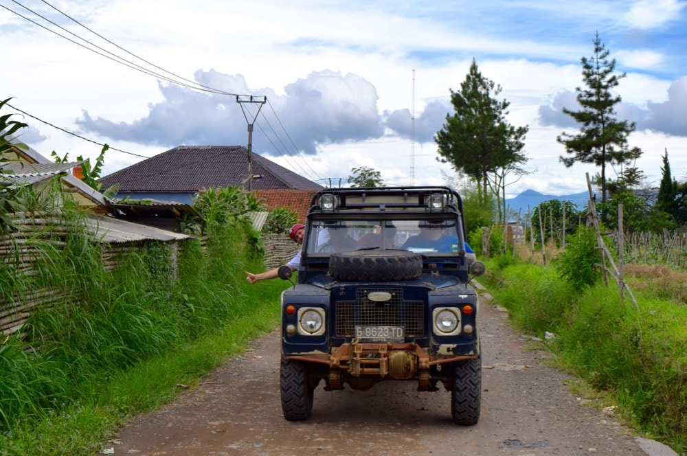 Off-road 4x4 adventure in Bandung, Indonesia