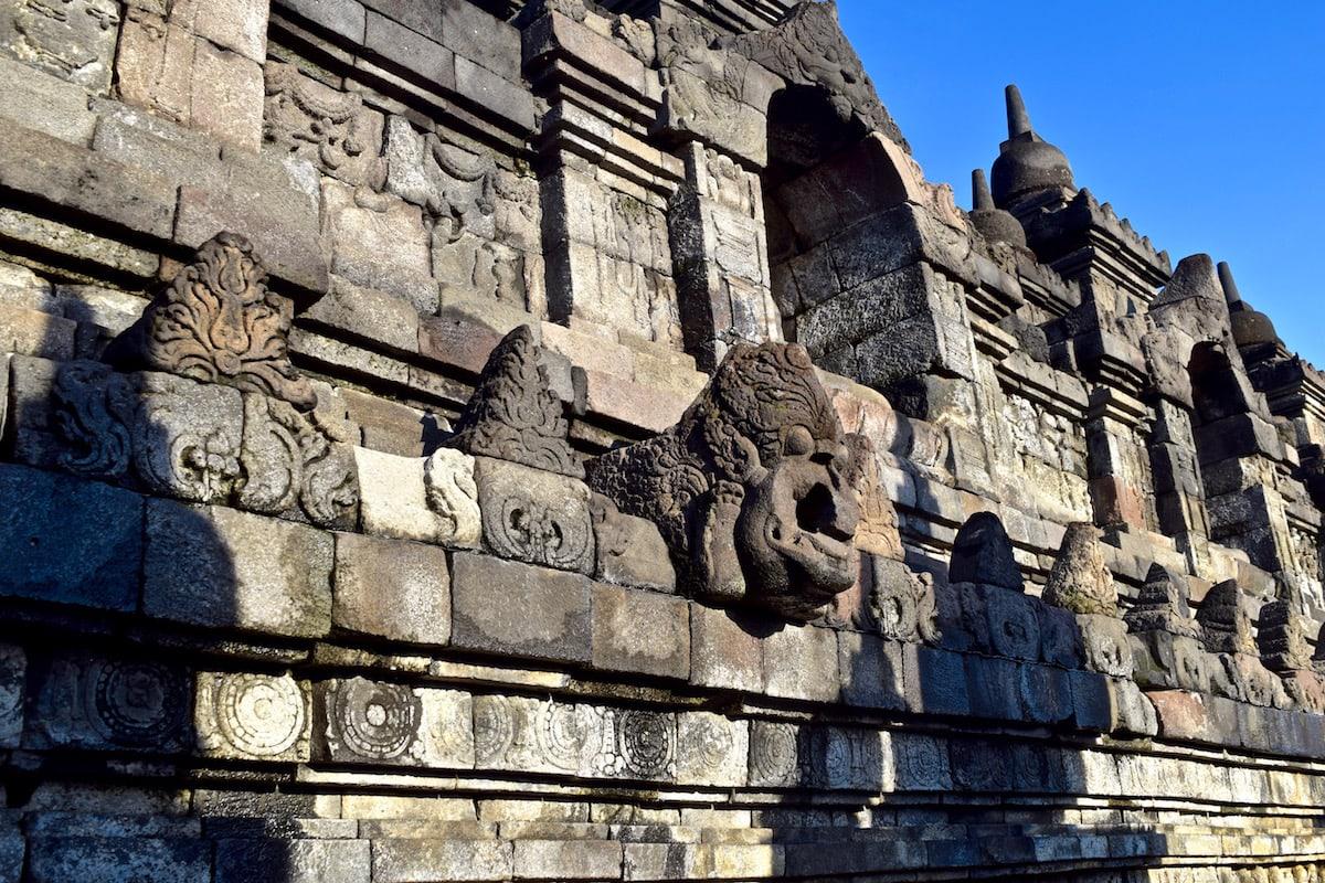 Details at Borobudur, Indonesia