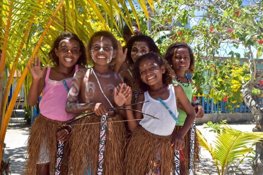 The smiles of the kids in Arborek, Raja Ampat