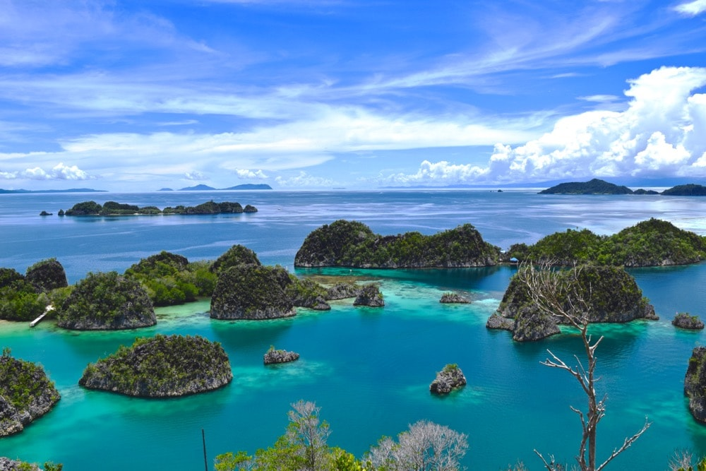 Raja Ampat islands - clusters of small islands that are so beautiful