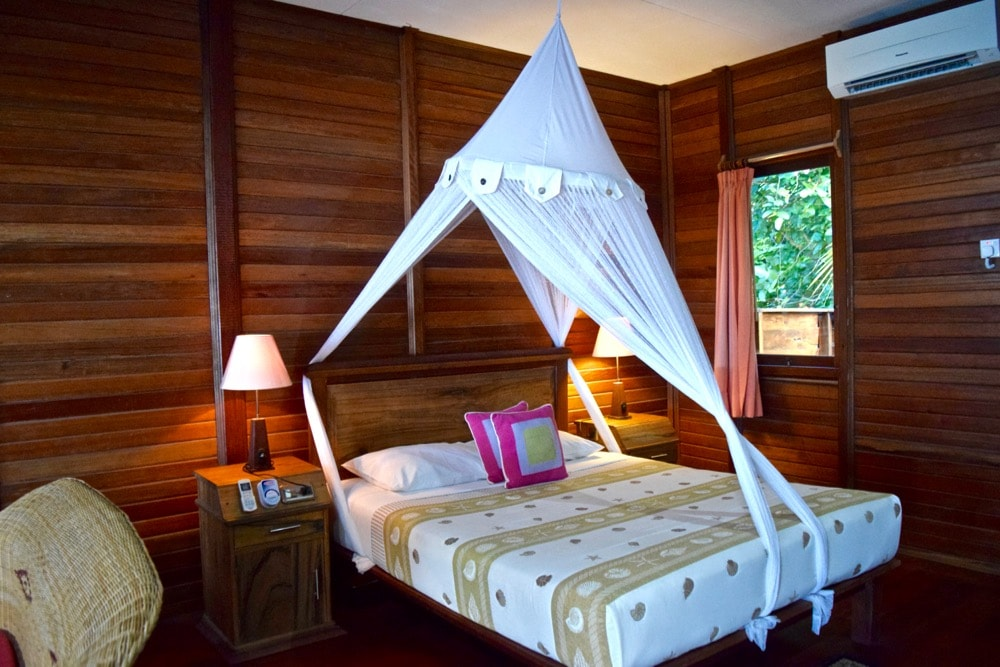Our room at Raja Ampat Dive Lodge, Indonesia